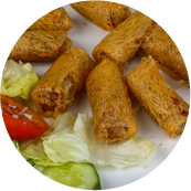 5. Spring Rolls with Meat (2)